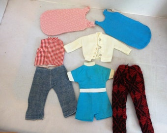 Vintage Group of Tammy Doll Clothes