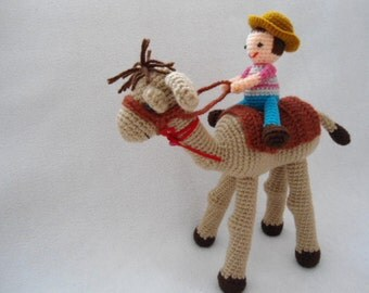 camel crochet pattern ,amigurumi camel