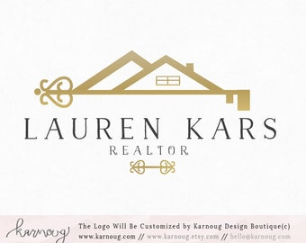 Real Estate Logo|Realtor Logo|House Logo|Key Logo|Gold Logo|Premade Logo|Watermark Logo|Business Logo|Branding Logo|digital logo|Logos