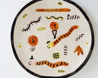 Sale - Playful plate