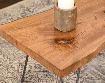 Live Edge Natural Slab Coffee Table