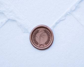 Wreath Wax Seal