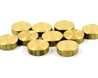 5 Pcs. Solid Raw Brass 4x13 mm Round  Bar Findings