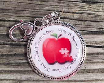 Autism Awareness Keepsake Keychain for Teachers/Great Teacher Gift