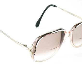 Gorgeous Vintage Corona Regency On Stage 1970's Oversize Large Eyeglasses Eyeglass Frames Glasses Movie Star Designer Style Made in France