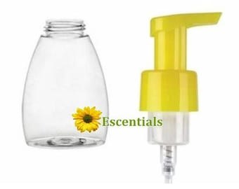 8.5 Ounce Table Top Foamer and Yellow Pump