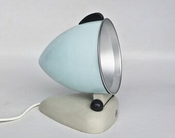 Vintage Sun Lamp / Infra Red UV Light / Heat Lamp / RR / 50's Yugoslavia / Blue