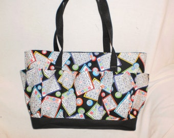 BINGO  craft bag / bingo bag