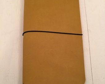 ClassicJot - Marigold - Leather Traveler's Notebook/Fauxdori