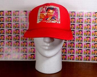 1992 Elvis Presley 29 cent POSTAGE STAMP HAT Baseball Cap & 80 - 29 cent Stamps