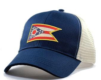 Homeland Tees Ohio Flag Hat - Trucker