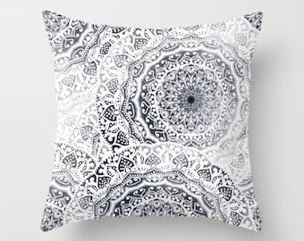 BOHOGIRL MANDALAS Bohemian Throw Pillow