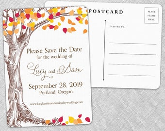 Celebration of Love - Postcard - Save-the-Date