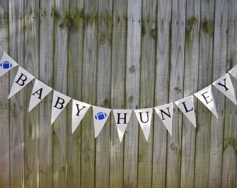 Baby Shower Burlap Banner - Baby Shower - Welcome baby Boy  Shower decor  Baby birth - Baby Announcement