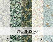 mt William Morris Washi Tape PRE ORDER (Estimated Delivery May 2017)