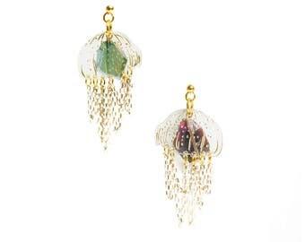 Jellyfish Earrings. LaliBlue