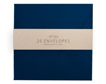 """Envelopes - 6-1/2"""" Square Night Blue"""