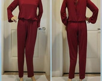 Long Sleeve Jumpsuit/M1018/Irene M