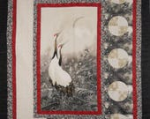 Finished Quilt - Greeting the Moon