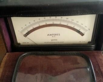 Vintage Voltage Meter