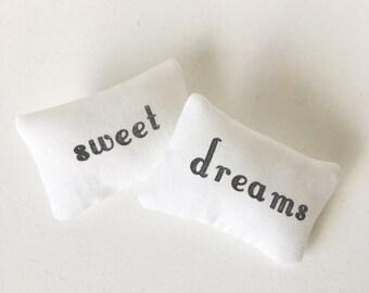 Dollhouse Bed Pillows