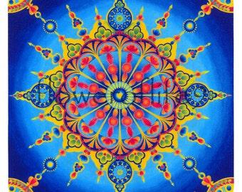 """Mandala Great temple (7.87"""" x 7.87"""") - mousepad"""