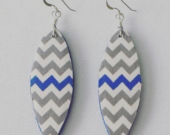 Boho Chic Wood Earrings