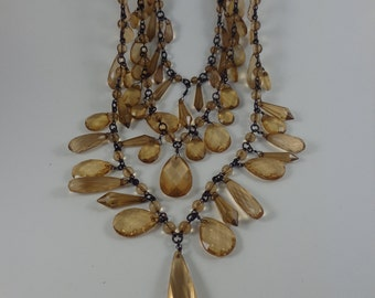 Signed Joan Rivers necklace