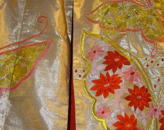 Japanese hand made authentic wedding kimono