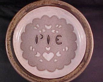 Hand  Thrown Pie Baker