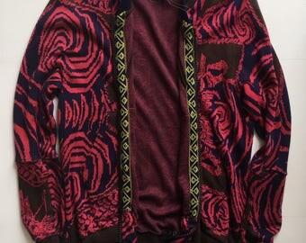 Bernhard Willhelm knit crazy pattern fashion designer