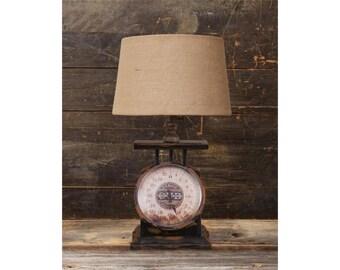 Rustic Replica Antique Scale Lamp