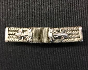 Vintage handmade barrette clip