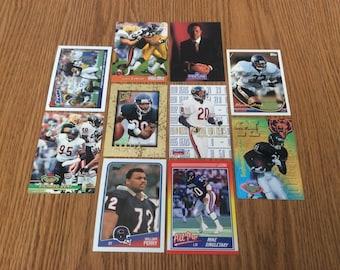 50 Chicago Bears Football Cards