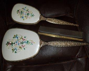 Vintage 3 Pc. Vanity Set