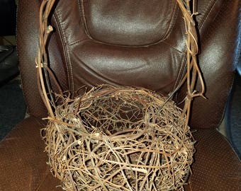 Primitive Twig Basket