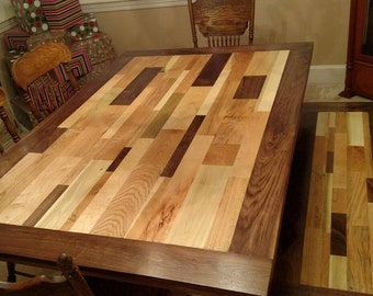 Patchwork Wood Scrap Table