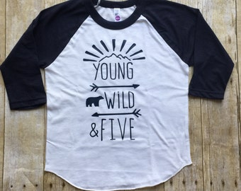 Boys 5th birthday shirt,  5th birthday shirt, boys birthday shirt, girls birthday shirt