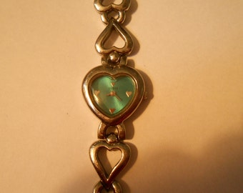 ladies guess heart watch