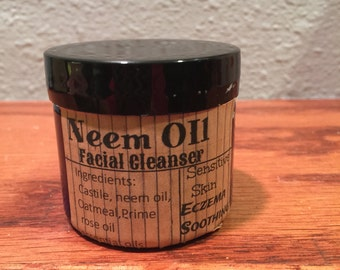 Gentle facial cleanser/creamy cleanser/ eczema soothing /acne soothing/sensitive skin/eczema