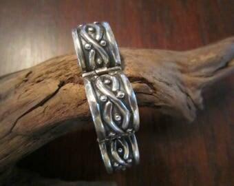 Los Castillo Sterling Link Bracelet