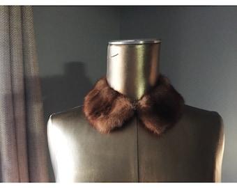 Vintage Fur Collar // 1960s
