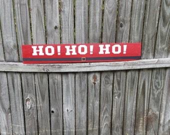 HO! HO! HO! Pallet Wood Sign