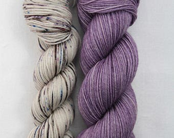 Hand-dyed yarn - sock yarn - superwash - merino - dyed-to-order - bundle SUPER CHAUSSETTE ANCIEN