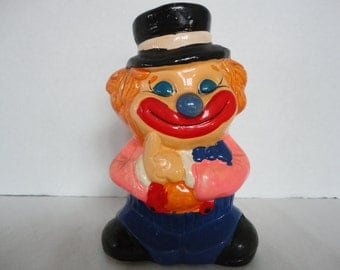 Vintage Clown Piggy Bank