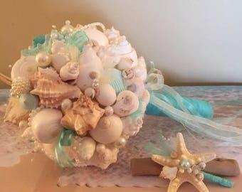 Xo bouquets seashell 21 inch bouquet
