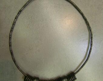 viking neck ring thor's hammer sweden 9-11thc living history use