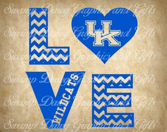 Kentucky svg, UK svg, silhouette, digital image, cricut, Kentucky cut file, cut file, UK cut file, heart, wildcats,wildcats svg, vinyl, love