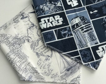 Bandana Bib, Star Wars, Sea, Infant/Toddler size