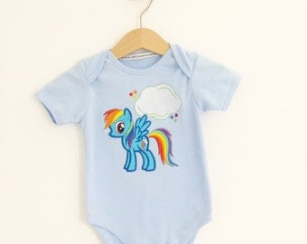 Rainbow Pony and more baby & children's  baby onesie vest